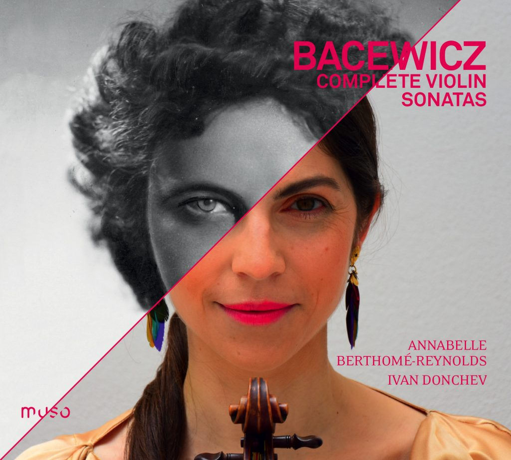 French violinist Annabelle Barthomé-Reynolds playing rare Grazyna Bacewicz sonatas